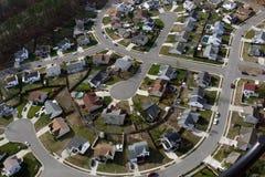 воздушный американский culdesac Стоковое фото RF