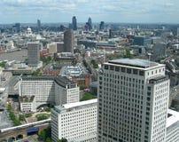 воздушный взгляд Англии london Великобритании Стоковая Фотография