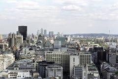 воздушный взгляд английской языка buidlings Стоковое Изображение
