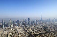 воздушный взгляд Дубай Стоковое фото RF