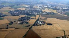 воздушный взгляд европы Стоковое Фото