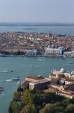 воздушный взгляд Италии venice города Стоковое фото RF