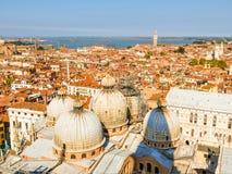 воздушный взгляд Италии venice Стоковое фото RF