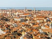 воздушный взгляд Италии venice Стоковая Фотография RF