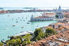 воздушный взгляд Италии venice Стоковые Изображения