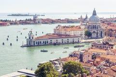 воздушный взгляд Италии venice Стоковая Фотография