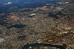 воздушный взгляд Квинсленда стоковые фотографии rf
