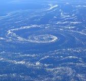 воздушный взгляд моря льда Стоковые Изображения RF