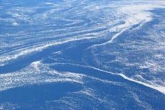 воздушный взгляд моря льда Стоковое Изображение