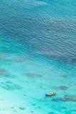 воздушный взгляд рая залива Стоковое Изображение RF