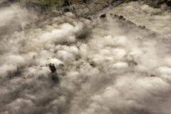 воздушный взгляд сельской местности Австралии Стоковая Фотография RF