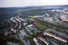 воздушный взгляд снабжения жилищем имущества Стоковые Фотографии RF