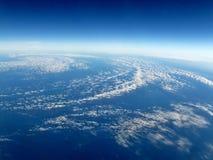 воздушный взгляд урагана Стоковые Фото