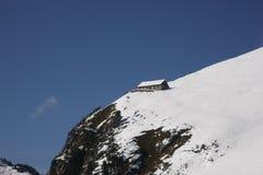 воздушный взгляд швейцарца alps стоковые изображения rf