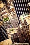 воздушный взгляд chicago городской Стоковые Фотографии RF