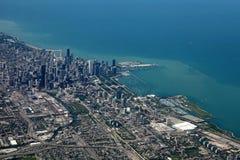 воздушный взгляд chicago Стоковые Изображения RF