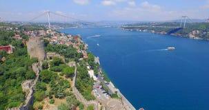 воздушный взгляд istanbul Стоковые Фотографии RF