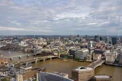 воздушный взгляд london Стоковые Изображения RF