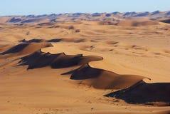 воздушный взгляд namib пустыни Стоковые Изображения RF