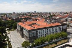 воздушный взгляд oporto Португалии Стоковое Изображение