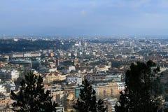 воздушный взгляд rome Стоковое Изображение RF