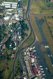воздушный взгляд san rica jose Косты Стоковые Фотографии RF