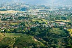 воздушный взгляд san rica jose Косты Стоковое фото RF