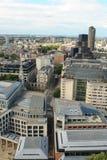 воздушный взгляд st london Паыля s собора Стоковая Фотография RF