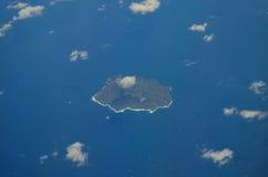 воздушный взгляд ustica Италии Стоковые Изображения RF