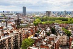 воздушный взгляд westminster собора Стоковые Фото