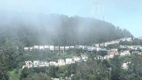 Воздушный городской пейзаж Сан-Франциско от парка Grandview сток-видео