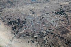 Воздушный город Стоковое фото RF