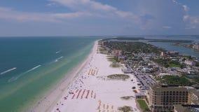Воздушный день 4K Флориды Тампа июля 2017 солнечный воодушевляет 2 акции видеоматериалы