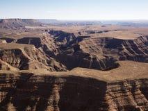 воздушный каньон грандиозный Стоковые Фотографии RF