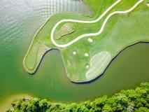 Воздушный клуб Остин графства поля для гольфа, Техас, США Стоковая Фотография