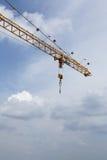 воздушный кран cloudscape Стоковые Изображения