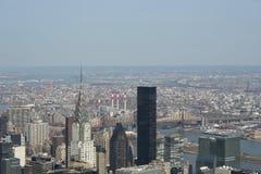 воздушный новый взгляд york стоковые фотографии rf