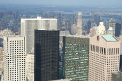 воздушный новый VI взгляд york Стоковые Изображения RF