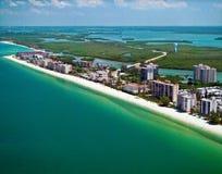 Воздушный, пляж Bonita стоковое изображение