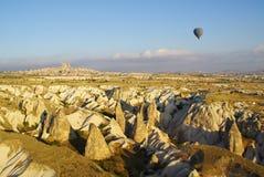ВОЗДУШНЫЙ ШАР НАД CAPPADOCIA Стоковое Изображение RF
