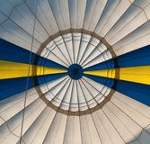 Воздушный шар Нижний взгляд Стоковое фото RF