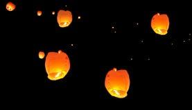 Воздушный шар партийного органа горячего воздуха тайский Стоковое Фото