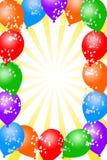 воздушный шар предпосылки иллюстрация штока