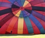 воздушный шар цветастый надувает Стоковые Изображения RF