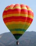 воздушный шар цветастый Стоковая Фотография