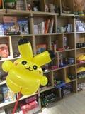 Воздушный шар Pikachu Стоковые Изображения