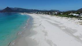 Воздушный южно-африканский пляж видеоматериал