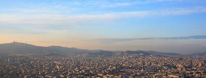 воздушный barcelona Стоковые Фото
