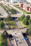 воздушный rotterdam Стоковые Фотографии RF