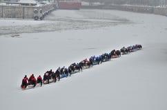 Возможность каное льда Монреаля стоковая фотография